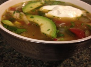 mexican mix and match chicken soup recipe