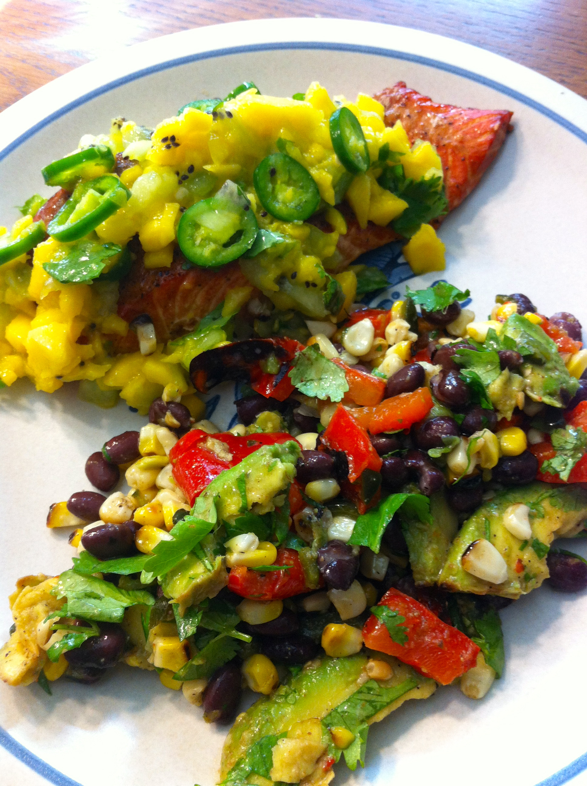 Grilled Corn, Poblano, and Black Bean Salad | Culinary Reviewed