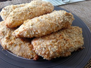 baked chicken breasts with parmesan crust recipe