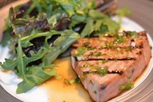 grilled hawaiian tuna recipe