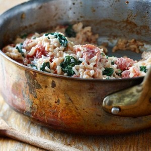baked tomato risotto recipe
